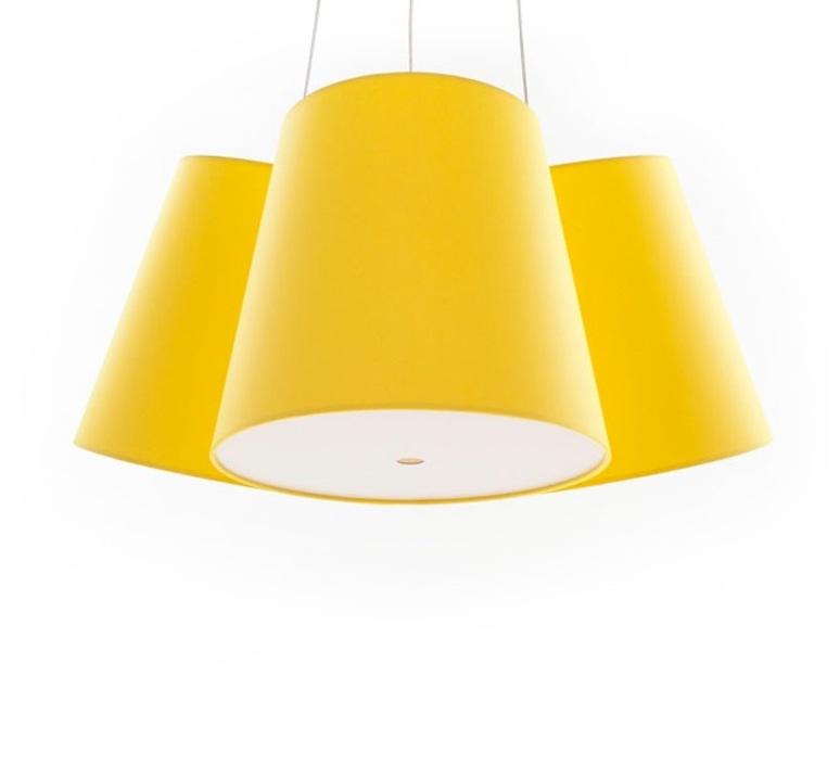 Cluster felix severin mack fraumaier cluster jaune luminaire lighting design signed 16935 product