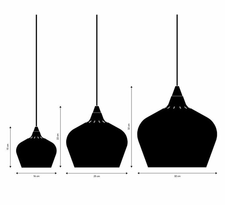 Cohen small toni rie suspension pendant light  frandsen 144166184001  design signed nedgis 92018 product