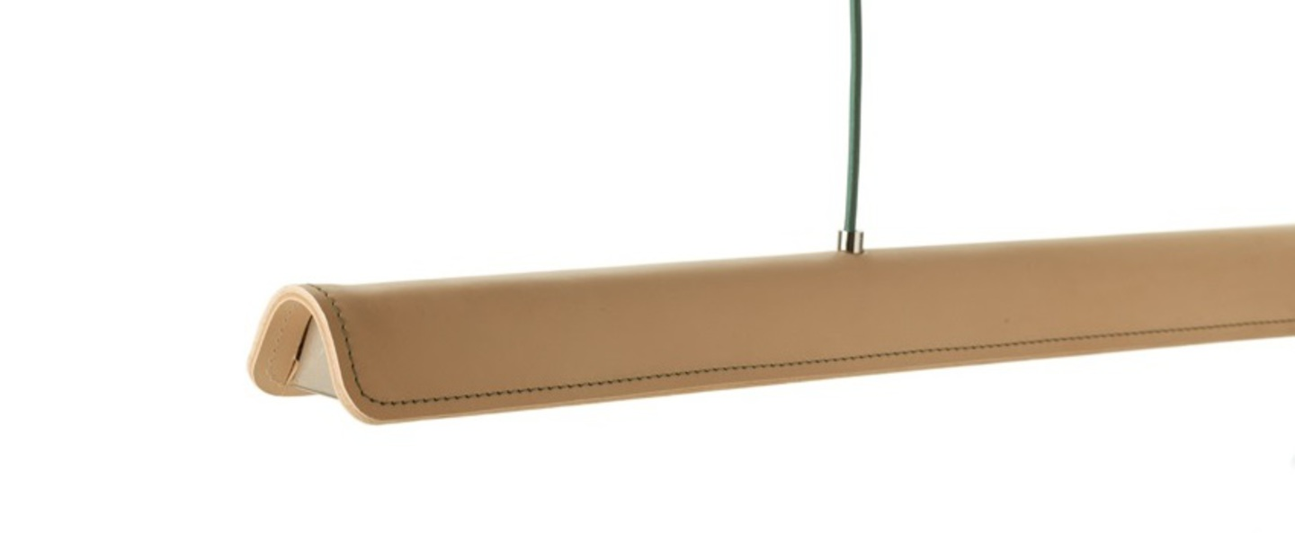 Suspension cohiba cuir naturel l123cm formagenda normal