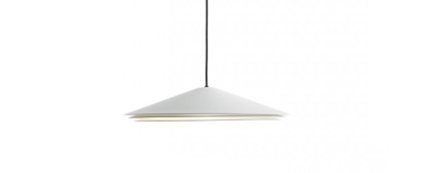 Suspension colette blanc led 2700k 1800lm o40cm h8cm carpyen normal