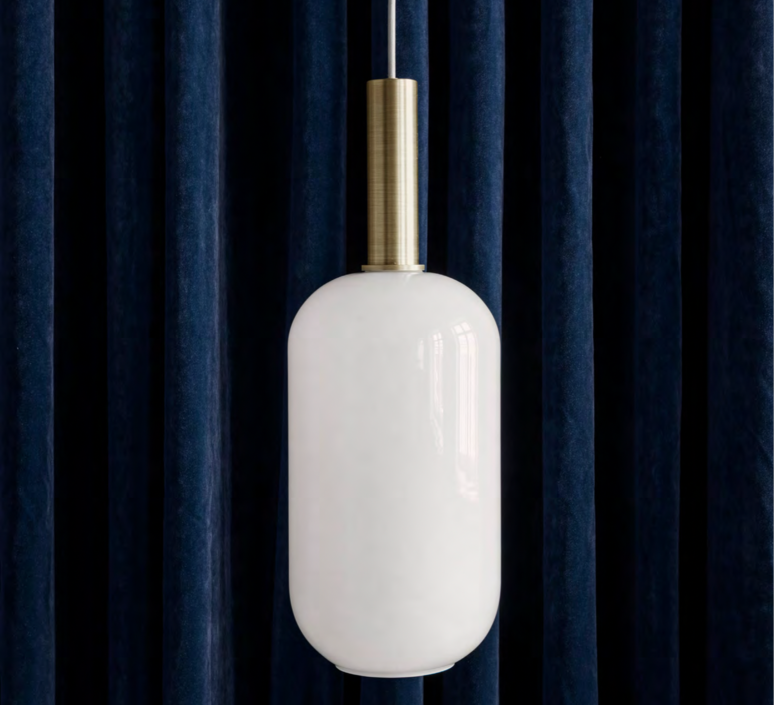 Collect lighting brass and tall  suspension pendant light  ferm living 5107 5149  design signed 77395 product