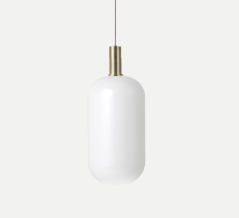 Collect lighting brass and tall  suspension pendant light  ferm living 5107 5149  design signed 77406 product
