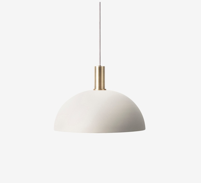 Dome shade   suspension pendant light  ferm living 5129 5139  design signed 37688 product