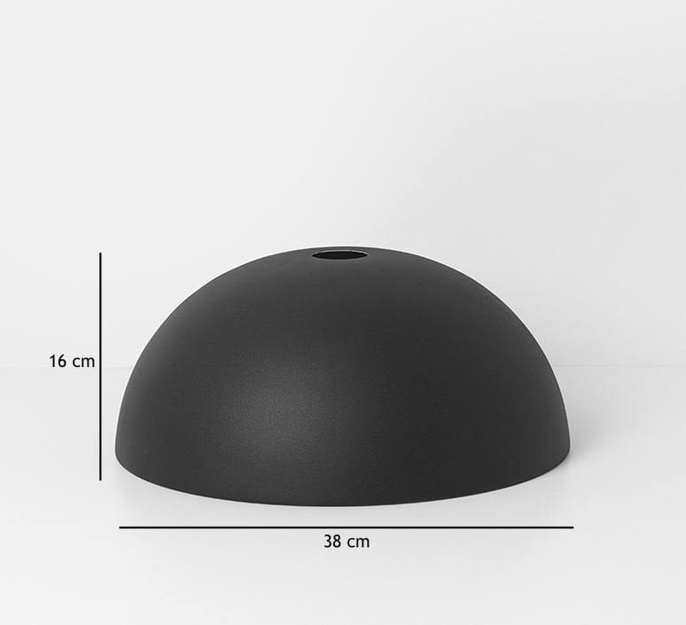 Collect lighting dome shade   suspension pendant light  ferm living 5108 5138  design signed 37536 product