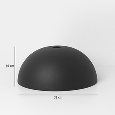 Collect lighting dome shade   suspension pendant light  ferm living 5108 5138  design signed 37536 thumb
