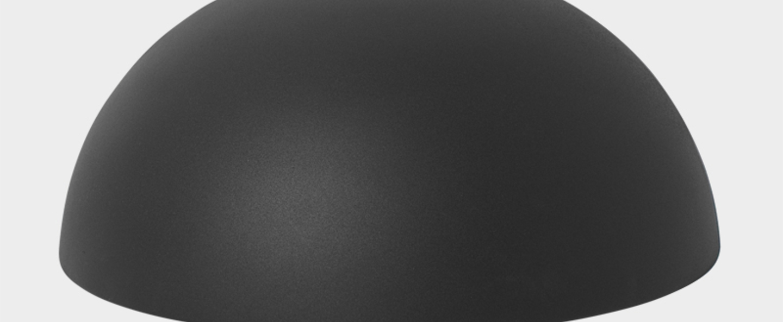 Suspension collect lighting dome shade noir led o38cm h33cm ferm living normal