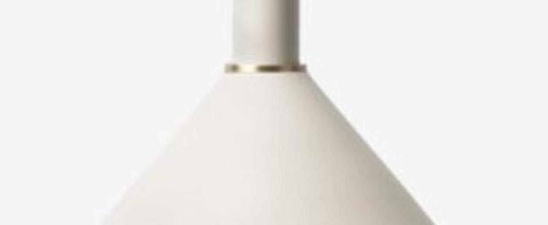 Suspension collect lighting socket high cone gris o25cm h29cm ferm living normal