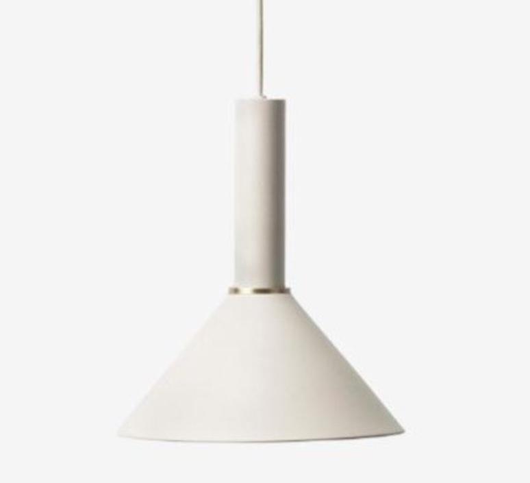 Collect lighting socket high cone trine andersen suspension pendant light  ferm living 5111 5118  design signed nedgis 64202 product