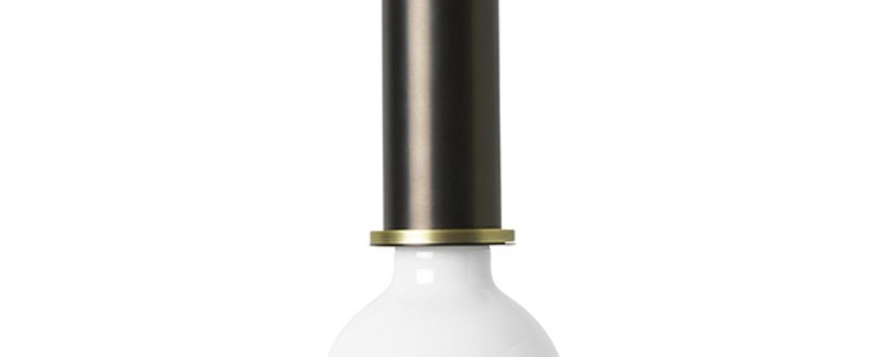 Suspension collect lighting socket low laiton noir o6cm h10 2cm ferm living normal