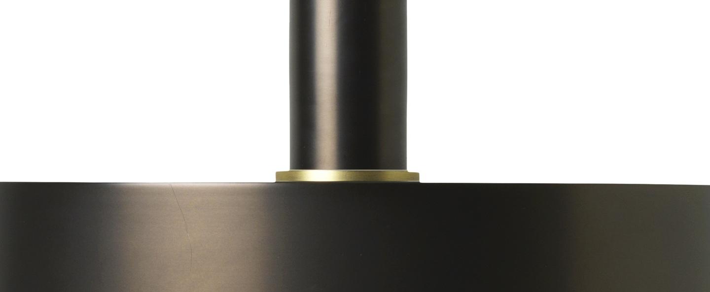 Suspension collect lighting socket low record laiton noir l30cm o17 2cm ferm living normal