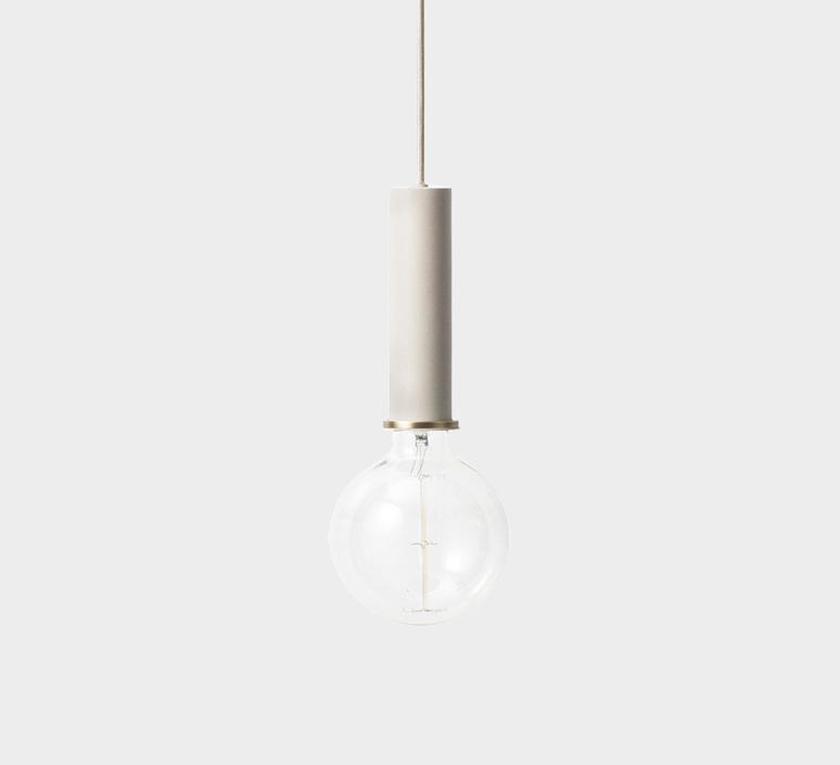 Collect lighting socket pendant high  suspension pendant light  ferm living 5111  design signed 37304 product