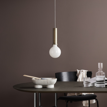 Suspension collect lighting socket pendant high laiton led o6cm h17cm ferm living normal