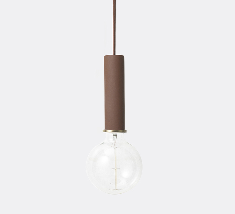 Collect lighting socket pendant high  suspension pendant light  ferm living 5132  design signed 37314 product