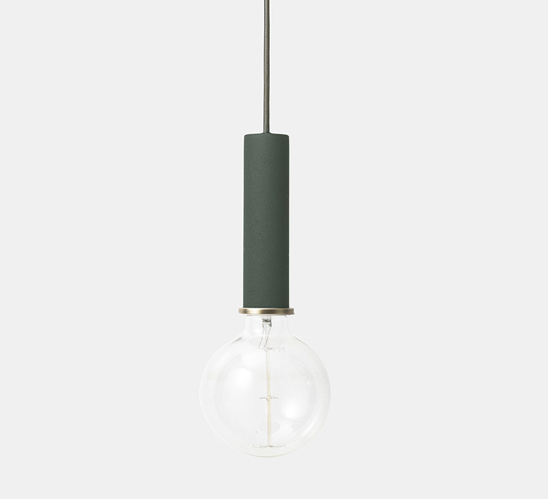 Collect lighting socket pendant high  suspension pendant light  ferm living 5130  design signed 37312 product
