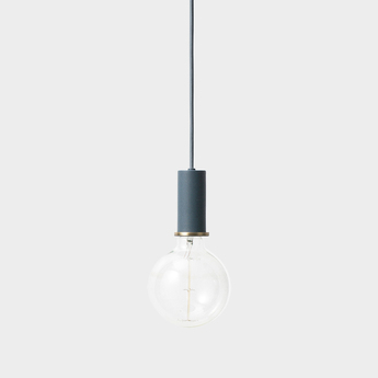 Suspension collect lighting socket pendant low bleu led o6cm h10 2cm ferm living ec0d000d 7775 4fd0 bf2c 367c1fac7b63 normal