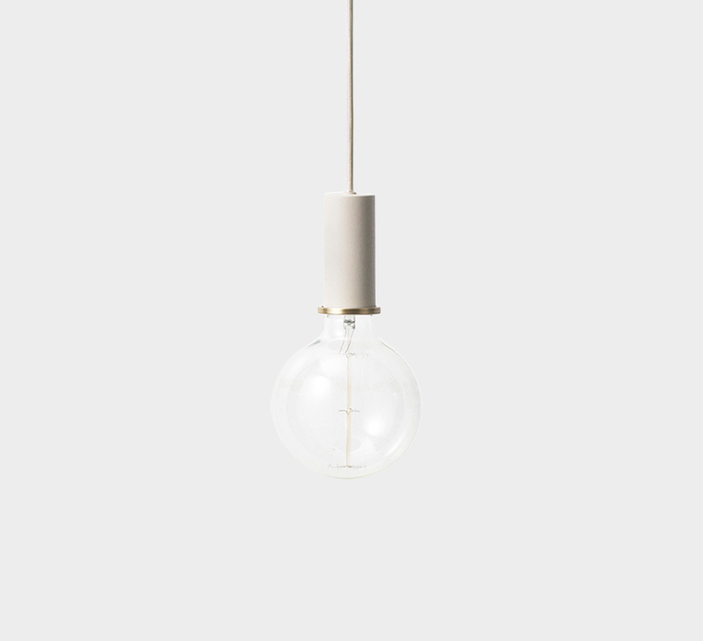 Collect lighting socket pendant low  suspension pendant light  ferm living 5110  design signed 37288 product