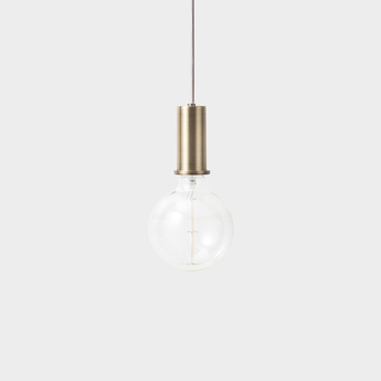 Suspension collect lighting socket pendant low laiton led o6cm h10 2cm ferm living normal