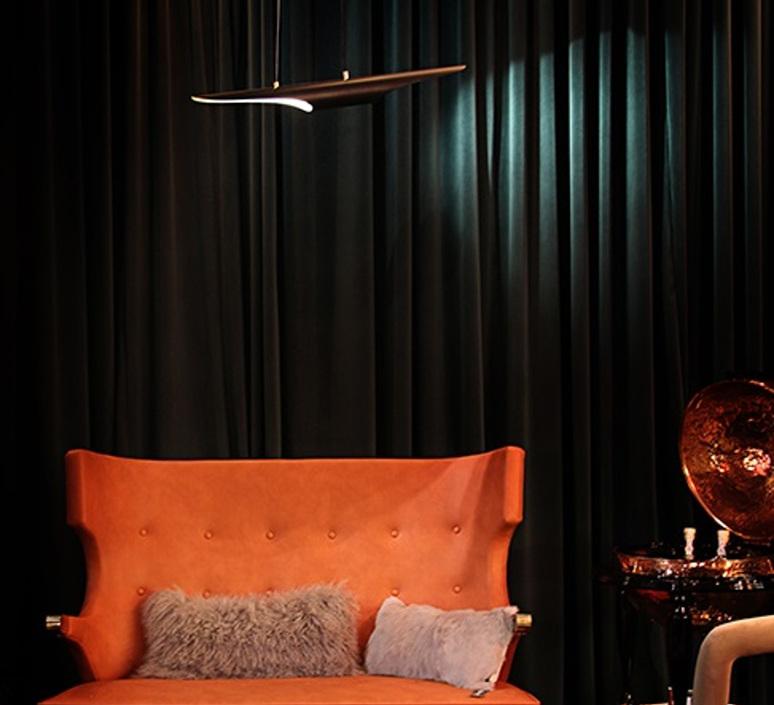 Coltrane studio delightfull delightfull suspension coltrane black gold luminaire lighting design signed 25595 product