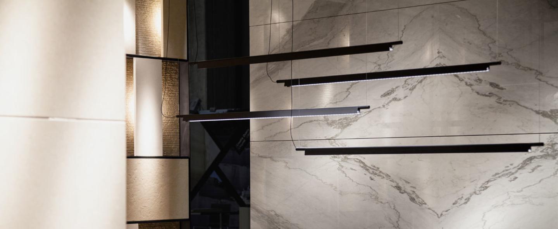 Suspension compendium d81s aluminium led 1227lm 2700k l162 5cm h4 57cm luceplan normal