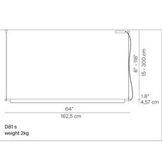 Compendium d81s daniel rybakken suspension pendant light  luceplan 1d810s000020  design signed 54869 thumb