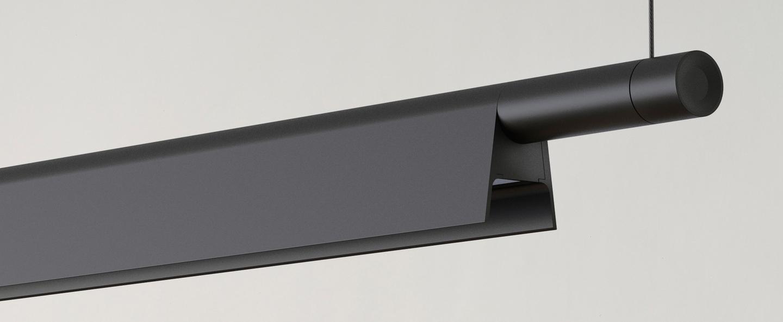 Suspension compendium d81s noir led 962lm 2700k l162 5cm h4 57cm luceplan normal