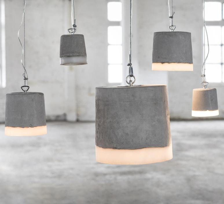 Concrete renate vos suspension pendant light  serax b7212509  design signed 59932 product