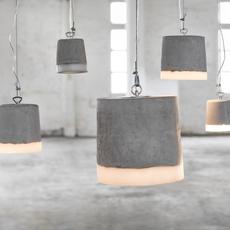 Concrete renate vos suspension pendant light  serax b7212509  design signed 59932 thumb