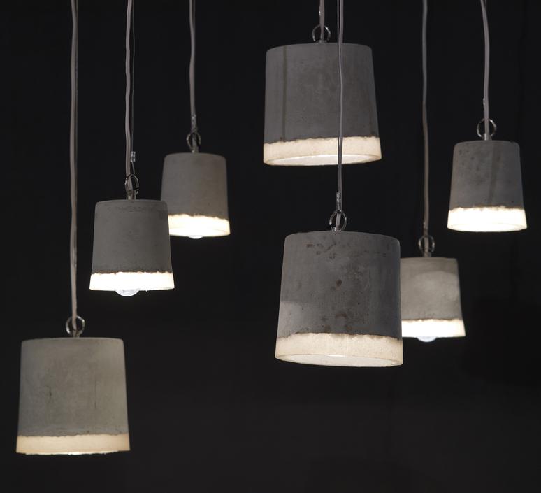 Concrete renate vos suspension pendant light  serax b7212509  design signed 59935 product