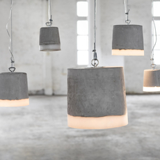 Concrete renate vos suspension pendant light  serax b7212510  design signed 59937 thumb