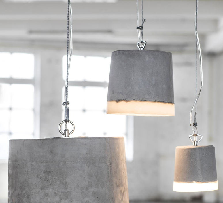 Concrete renate vos suspension pendant light  serax b7212510  design signed 59938 product