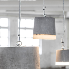 Concrete renate vos suspension pendant light  serax b7212510  design signed 59938 thumb