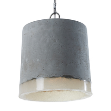 Concrete renate vos suspension pendant light  serax b7212510  design signed 59941 thumb