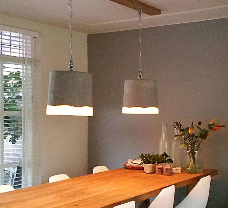 Concrete renate vos suspension pendant light  serax b7212510a  design signed 59942 product