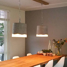 Concrete renate vos suspension pendant light  serax b7212510a  design signed 59942 thumb