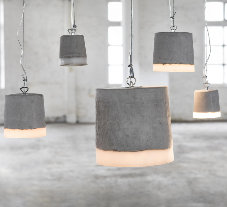 Concrete renate vos suspension pendant light  serax b7212510a  design signed 59943 product
