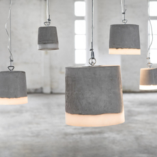 Concrete renate vos suspension pendant light  serax b7212510a  design signed 59943 thumb