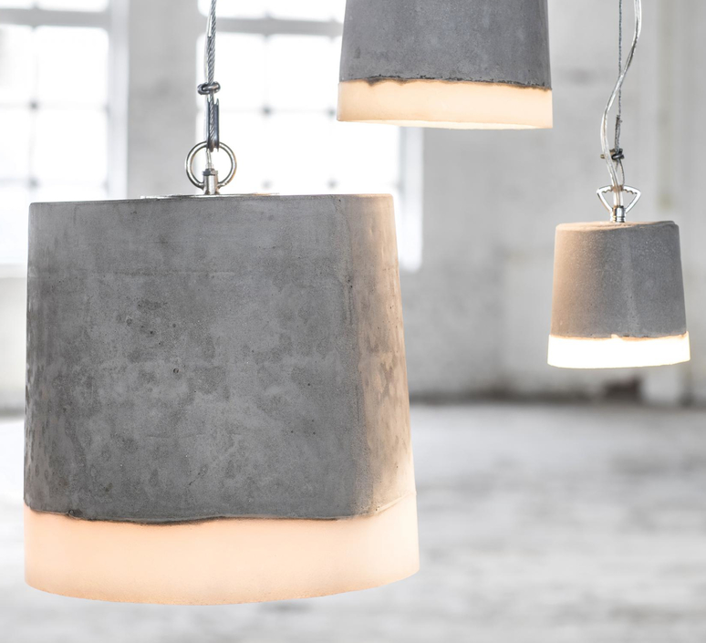 Concrete renate vos suspension pendant light  serax b7212510a  design signed 59944 product