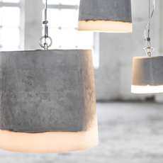 Concrete renate vos suspension pendant light  serax b7212510a  design signed 59944 thumb