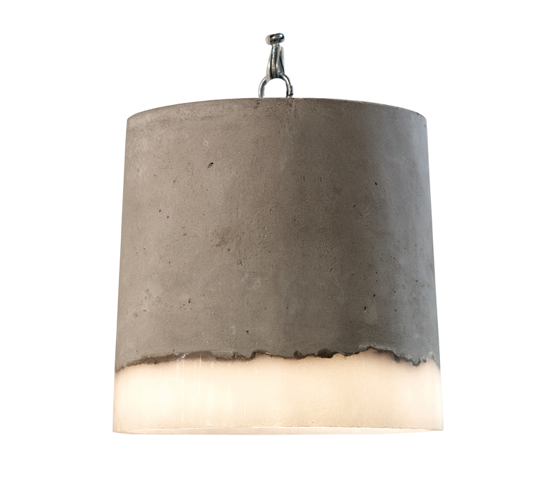 Concrete renate vos suspension pendant light  serax b7212510a  design signed 59948 product
