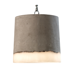 Concrete renate vos suspension pendant light  serax b7212510a  design signed 59948 thumb