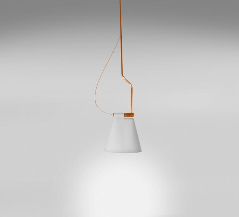Cone light s1 werner aisslinger suspension pendant light  b lux 739311   design signed 39452 product