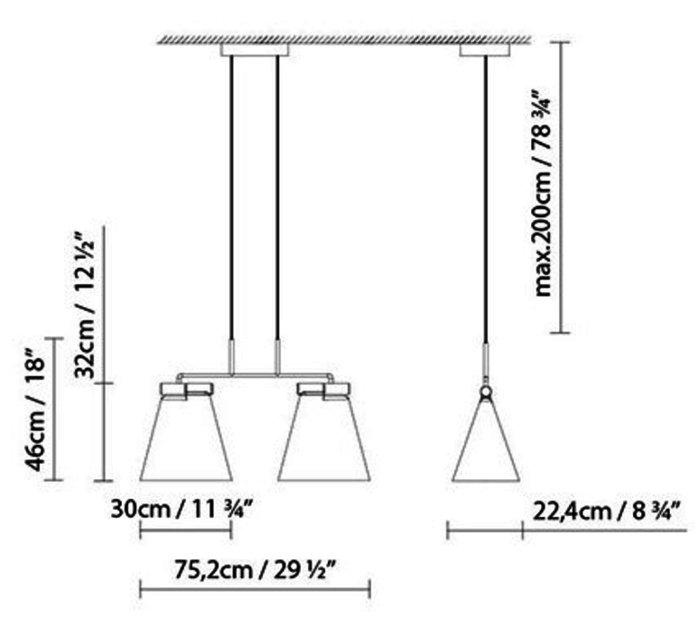Cone light s2 werner aisslinger suspension pendant light  b lux 739312   design signed 39456 product