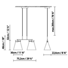 Cone light s2 werner aisslinger suspension pendant light  b lux 739312   design signed 39456 thumb