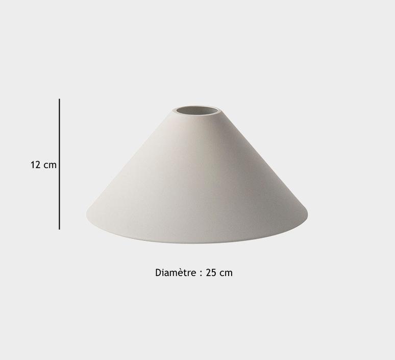 Cone shade   suspension pendant light  ferm living 5117 5118  design signed 36787 product
