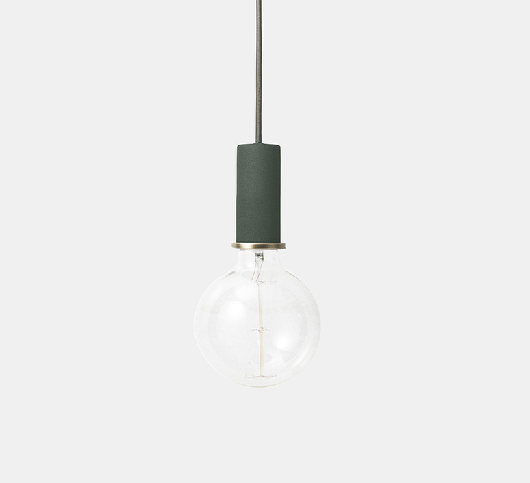 Cone shade   suspension pendant light  ferm living 5129 5135  design signed 36789 product