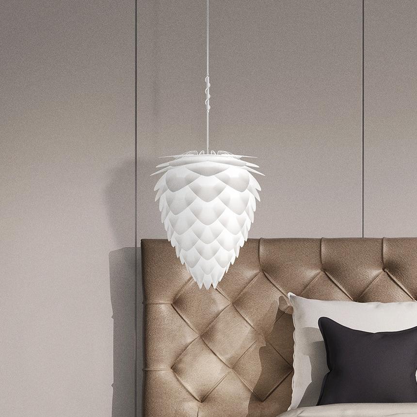 suspension conia blanc h50cm 40cm vita copenhagen. Black Bedroom Furniture Sets. Home Design Ideas