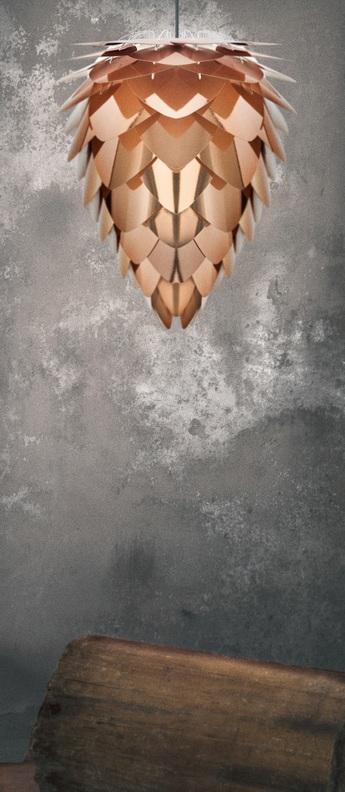 Suspension conia cuivre cuivre h50cm o40cm vita copenhagen normal