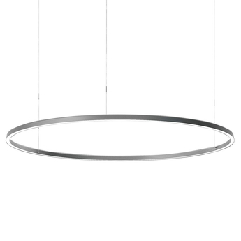 Suspension conpendium gris o200cm h15cm luceplan normal