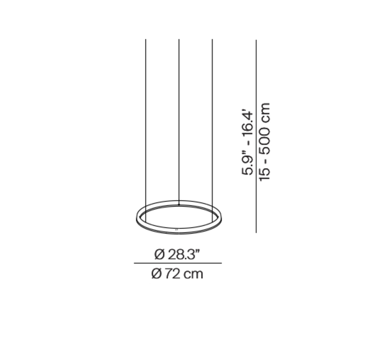 Conpendium daniel rybakken suspension pendant light  luceplan 1d810c070020 1d810 400000  design signed nedgis 79383 product