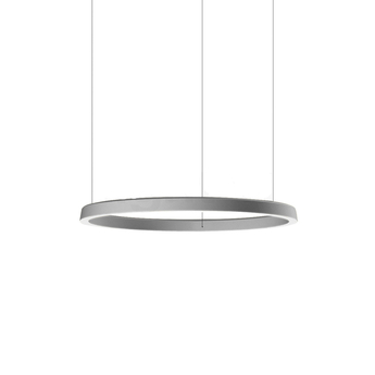 Suspension conpendium gris o72cm h15cm luceplan normal